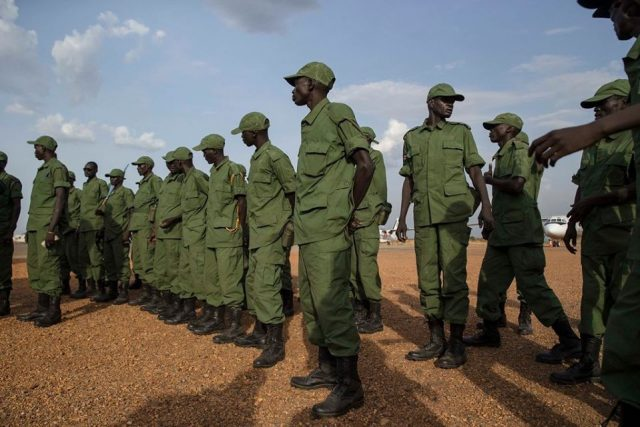 SPLA-IO forces in Rejaf